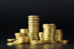 Gold coins that you can buy with a loan from Noble Finance