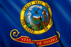 Idaho Flag  for loans in Idaho